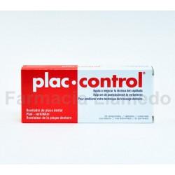 PLAC CONTROL COMPRIMIDOS REVELADOR PLACA DENTAL 20 COMPRIMIDOS