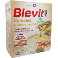 BLEVIT PLUS CEREALES Y COPOS DE MAIZ 600 G