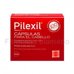 PILEXIL COMPLEMENTO NUTRICIONAL PARA CABELLO 100 CAPSULAS